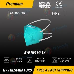 BYD N95 Respirator Face Mask Individual Sealed