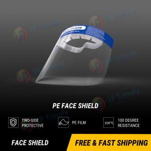 Flexible Face Shield - Upper Lead + Ear saver