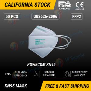 POWECOM KN95 Respirator Face Mask
